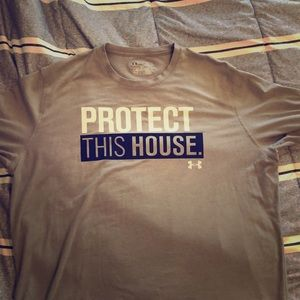 "I am selling a ""protect this house shirt"""
